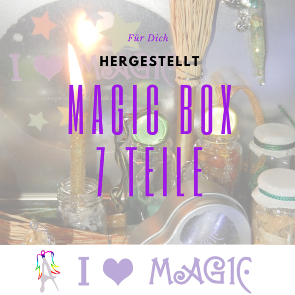 Deine Magic Box 7 Teilig