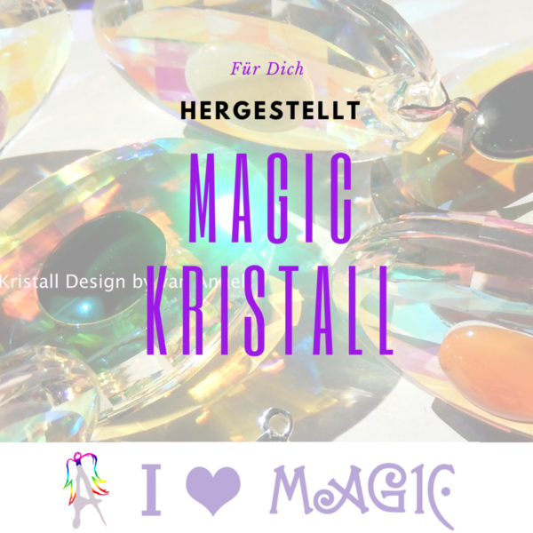 Dein Magic Kristall Amulett